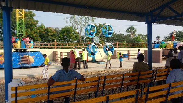 Amusement park in Tamilnadu.