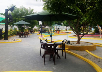 Dinning restaurant with green environment