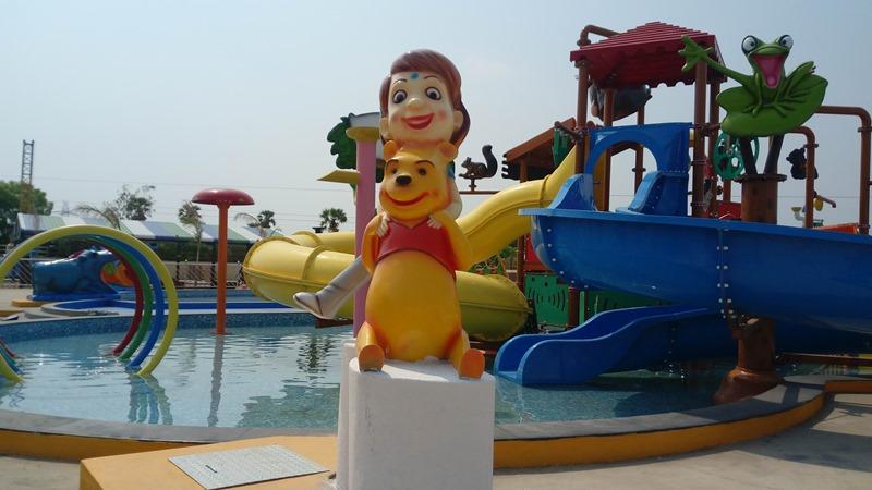 Amusement park in Tamilnadu.